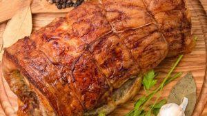 Rulada de porc si carnati proaspeti