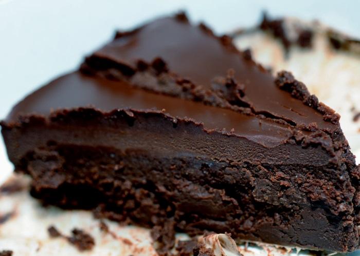 Negresa cu gust intens de ciocolata
