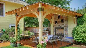 Ai nevoie de autorizatie de construire pentru construirea unui foisor? Foto, modele inedite!