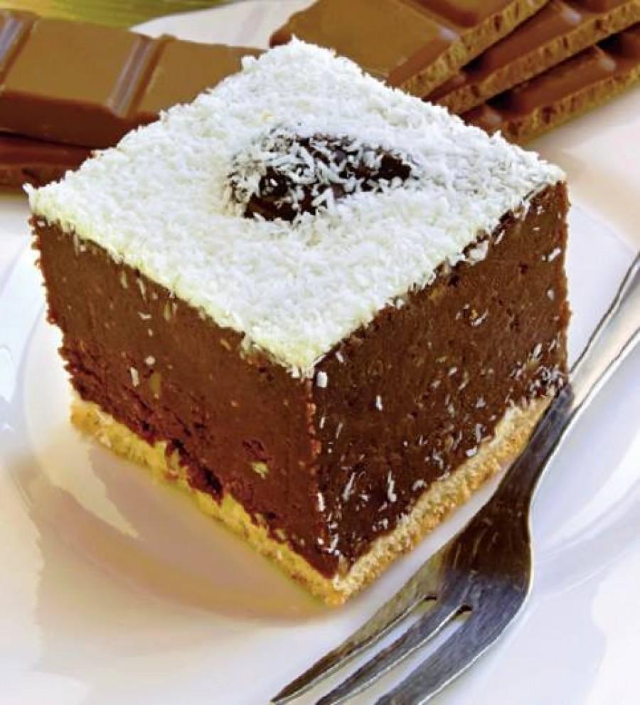 Prajitura de ciocolata ninsa