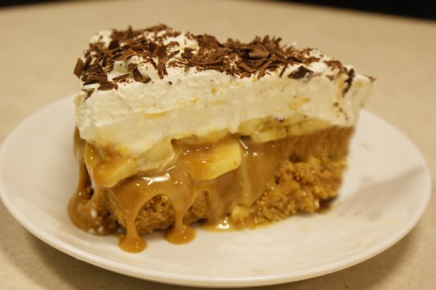 "Prajitura "" Banoffee "" – 5 ingrediente si e gata in10 minute"