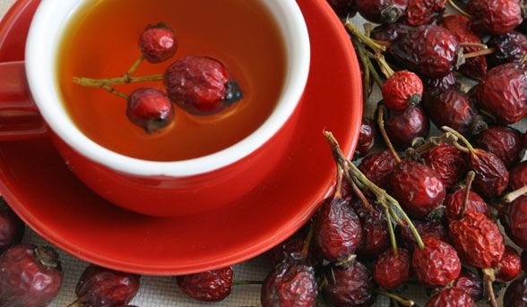 Ceaiul de macese previne infarctul si combate pietrele la rinichi si calmează crizele de ficat