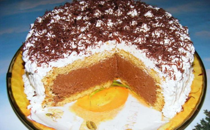 Tortul care place tuturor indiferent de varsta, tortul cu ciocolata si frisca