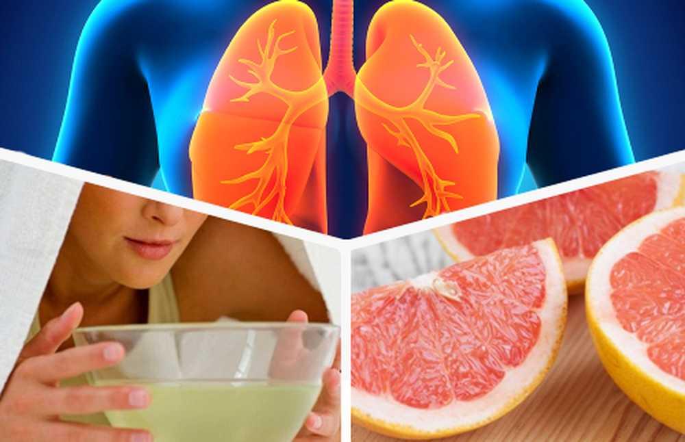 Dietă pentru detoxifierea plămânilor