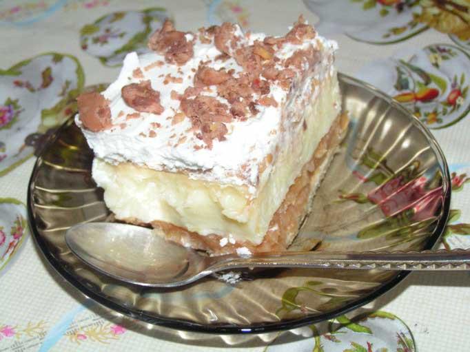 Prăjitură savuroasa cu mere, fără coacere. Incercati si nu ve-ti regreta!