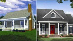 Proiecte de case pentru o familie mica – Case mici, dar incapatoare si comode
