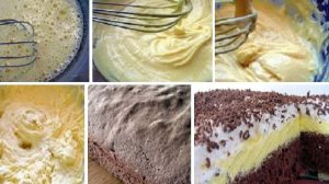 """Prăjitura """"Îngheţată falsă"""", un deliciu pentru zilele în familie! Se face în câteva minute şi e DELICIOASA!"""