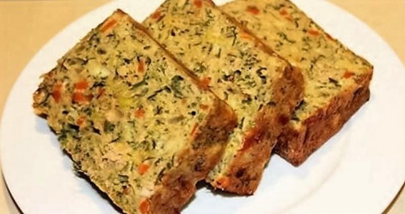 Rețetă de post gustoasă, sățioasă și sănătoasă – Drob de post din legume