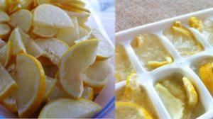 Consumați lămâi înghețate ca să eliminați toxinele și paraziții din corp!