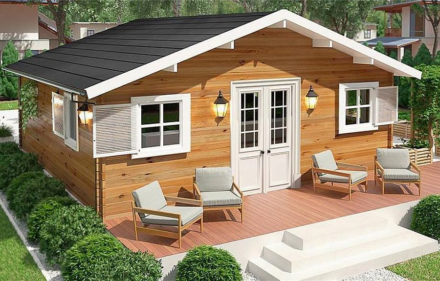 Imagini pentru Proiecte de case mici. 5 locuințe de vis, cu bani puțini! Locuințe trainice, ieftine și cochete