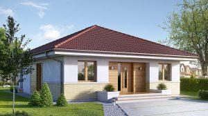 Case parter cu 2 dormitoare. Locuințe economice sub 20.000 de euro, amenajate util si frumos pentru o familie mică!
