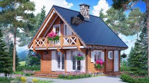 Construiește-ți o casă cu aspect rustic. Vechile rețete ale unui design frumos incanta pe care iubesc traditia