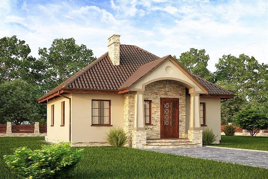 Proiecte de case mici și ieftine din cărămidă. Frumoase, sanatoase, durabile și economice!