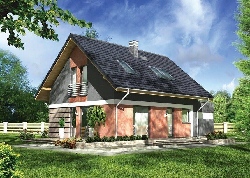 O casă de vis cu mansardă si garaj in suprafată de 93 m² si un interior ce merită văzut