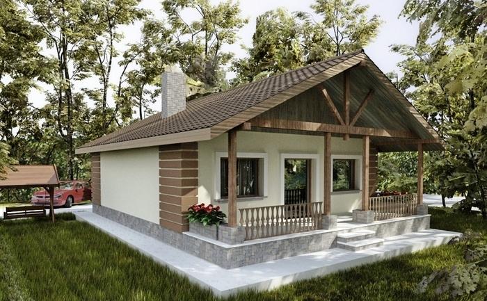 Proiecte de case mici. 5 locuințe de vis, cu bani puțini! Locuințe trainice, ieftine și cochete