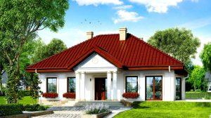 Casă de vis cu stil arhitectural unic in suprafată de 108 m². Ce frumos au amenajat interiorul