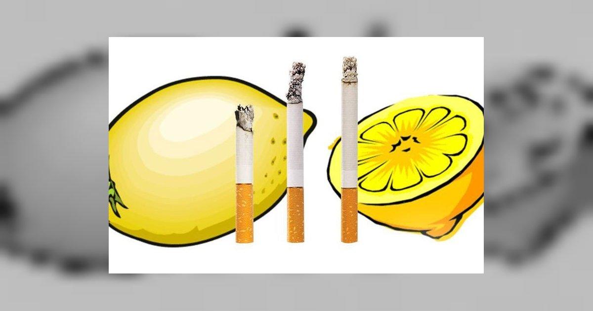 Cum să te lași de fumat consumând zeamă de lămâie! Chiar eficient!