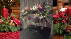 Spunem bun venit sarbatorilor de iarna cu instalatii luminoase si aceste idei de aranjamente vesele si elegante