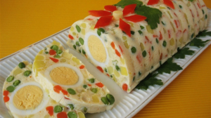 Rulada cu ou si legume – Se prepara foarte usor