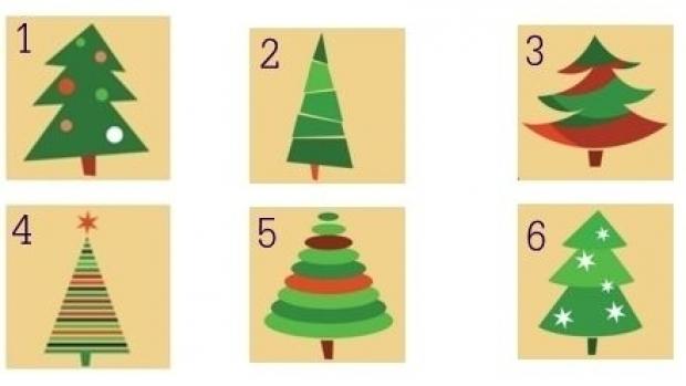 Test brad de Crăciun: alege imaginea preferată şi află ce tip de personalitate ai
