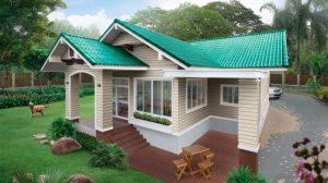 Casă de vis, mică, luminoasa, vesela, cu o suprafată de 98 m²