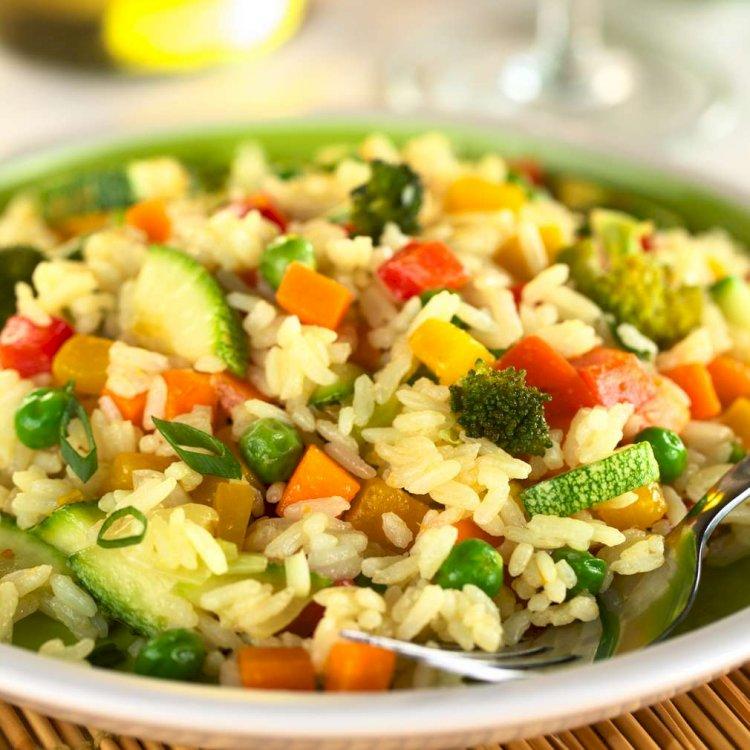 Orez cu legume după o rețetă mănăstirească. Secretul preparării celui mai gustos orez