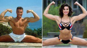 Fata lui Jean Claude Van Damme este cea mai frumoasă fiică de vedete! Este superbă, sexy și o adevărată luptătoare!