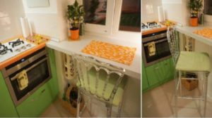 10 trucuri pentru o bucătărie foarte mică. Vecinul meseriaș mi-a sugerat cum să creez un spațiu confortabil fără să-mi dărâm pereții