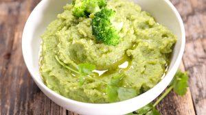 Piure cremos si gustos de broccoli