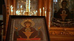 Citită în postul Paștelui face minuni, Rugăciunea la icoana Potirul Nesecat, izbăvește de patima beției!