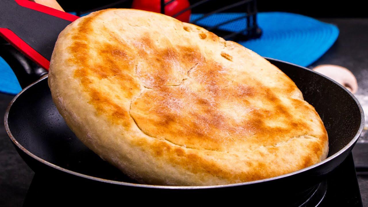 Paine fara cuptor! O rețetă pentru o pâine gătită la tigaie. Moale, pufoasă, savuroasă… O idee genială, nu?
