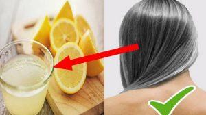 Firele de păr albe pot reveni la culoarea inițială! Ingredientul secret cu trebuie să amesteci sucul de lămâie