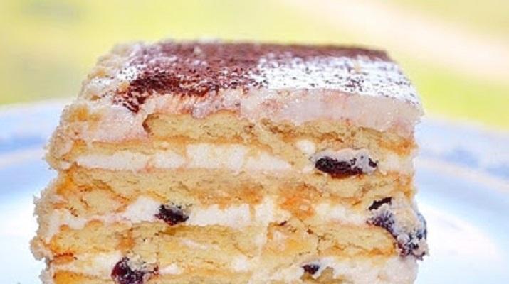 Tort cu prune uscate care se face fara coacere – Un desert de casa cu gust desavarsit