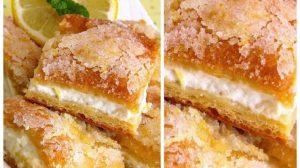 Rețetă pentru o prăjitură delicioasă, cu brânză și lămâie, din numai 5 ingrediente