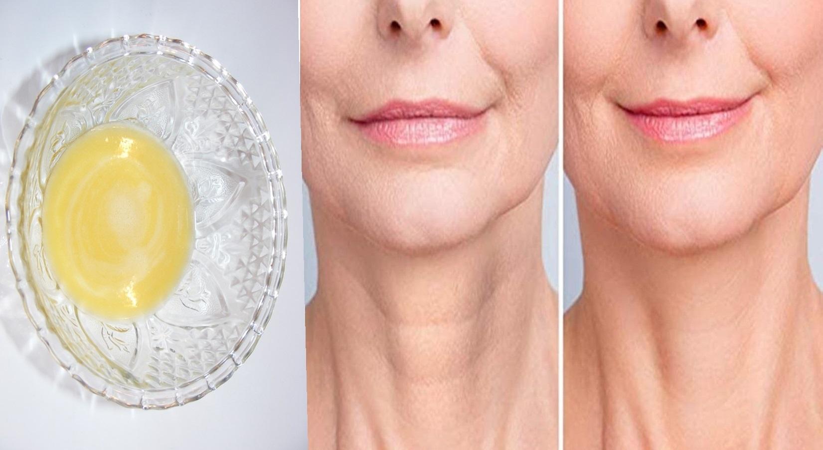 O modalitate ușoară și ieftină de a întineri pielea de pe gât și față