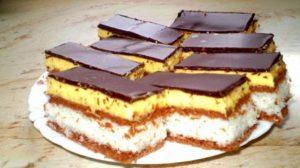 """Prăjitură""""Bounty"""", este simplu de realizat , fină si rafinată. Gustul ei te duce cu gandul direct pe o plajă tropicală"""