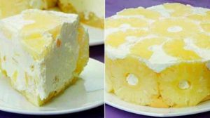 Tort de iaurt cu ananas – Cel mai gingas tort fara coacere, eu il prepar cat de des pot