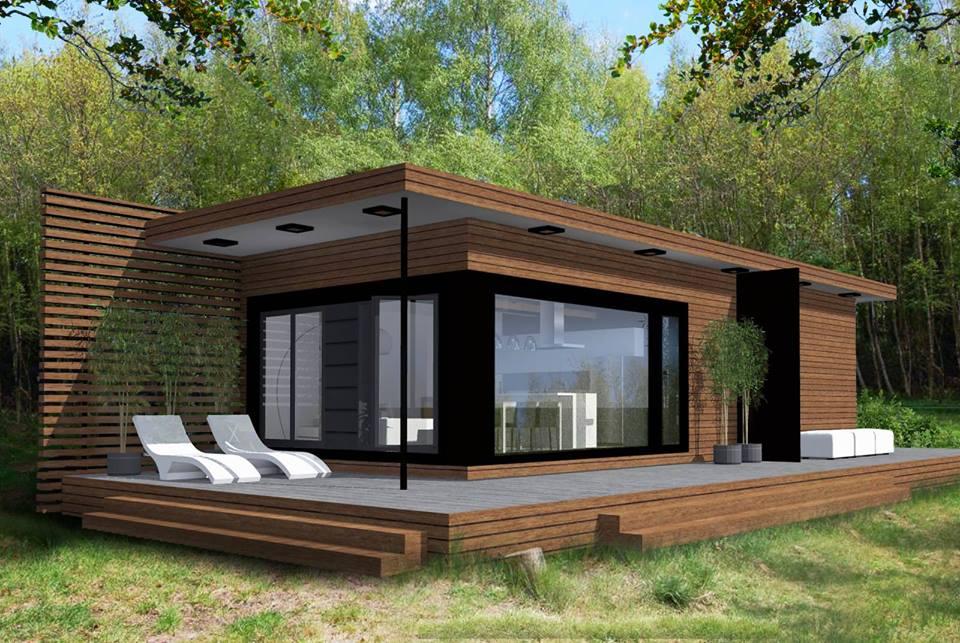O casă mică, ieftină și ingenioasă. Costă numai 11.900 de euro, dar îți oferă tot confortul