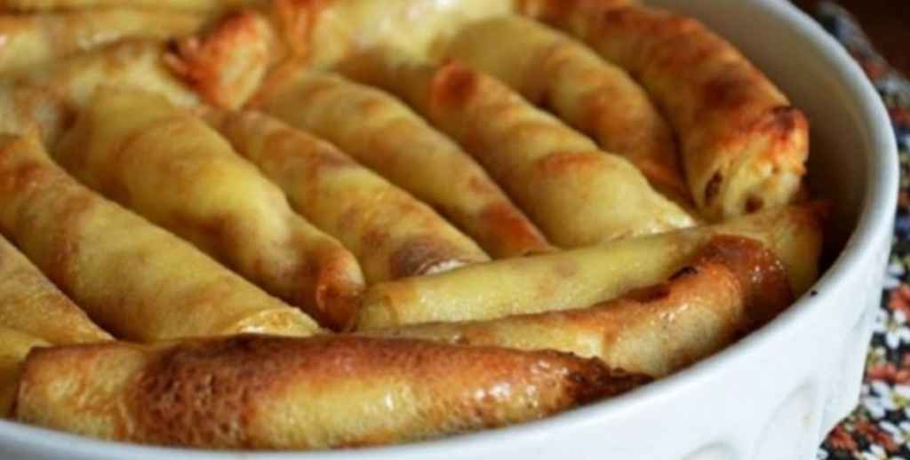 Așa clătite făcea bunica în cuptor – Un deliciu fără făină, care se topește în gură