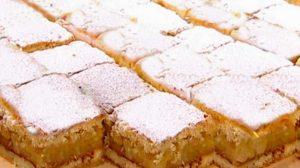 Plăcintă cu mere caramelizate și foarte aromate. Un desert ușor, pe placul tuturor