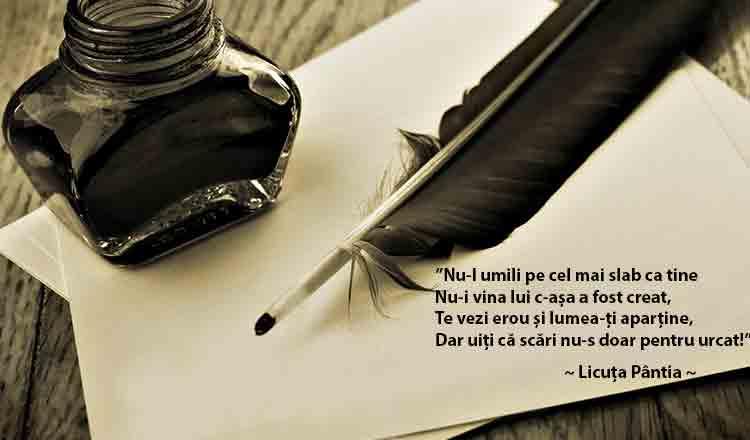 O poezie impresionantă, de Licuța Pântia!