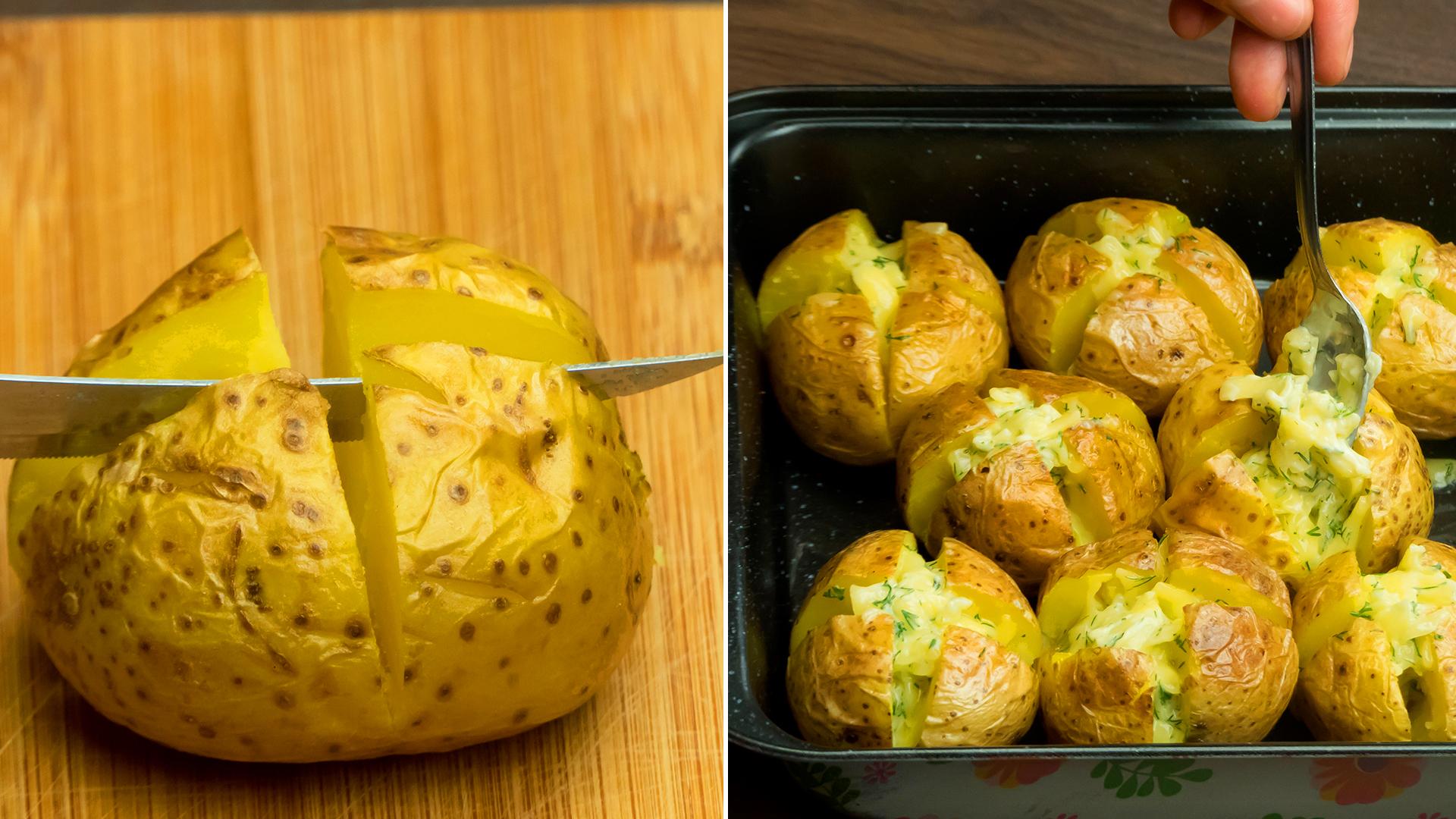 Așa cartofi nu ai mai gătit până acum! Cea mai delicioasă rețetă de cartofi copți pe care am mâncat vreodată!