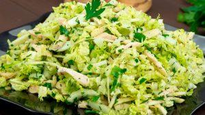 """""""Doamna la dietă"""" – salata pentru cei ce țin la silueta lor. Gust irezistibil în cel mai scurt timp"""