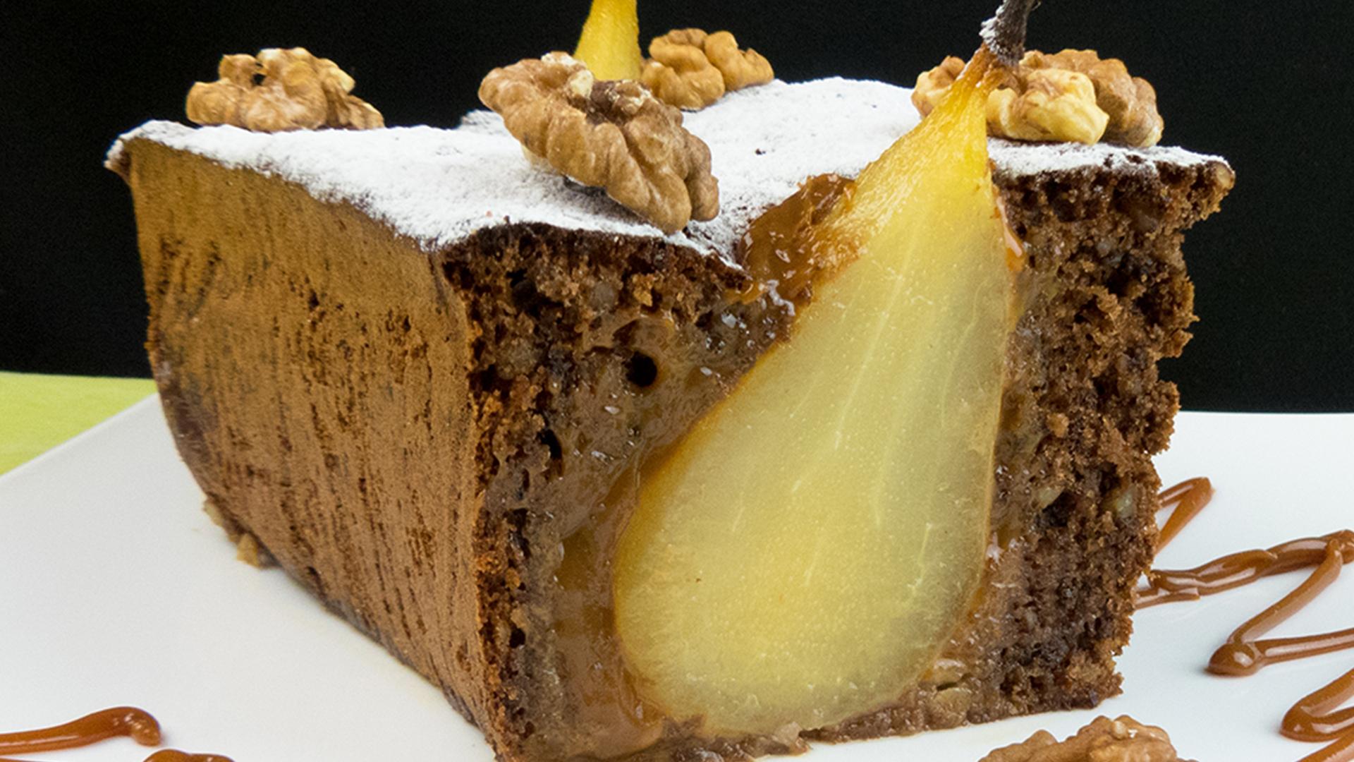Un desert cu o delicatețe cum nu ați mai întâlnit până acum – chec cu pere!
