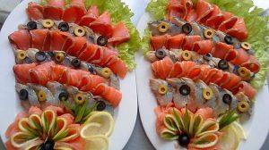 Platouri festive cu pește – iată ce minunății poți crea pentru masa de Sarbatori!