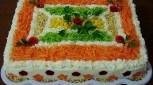 """Salată pentru sărbătoare """"Încântare"""": o rețetă la mare căutare!"""