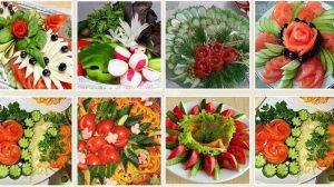 Cum să tai legumele pentru a încânta oaspeții – urmăriți ideile de aranjare a celor mai frumoase platouri!