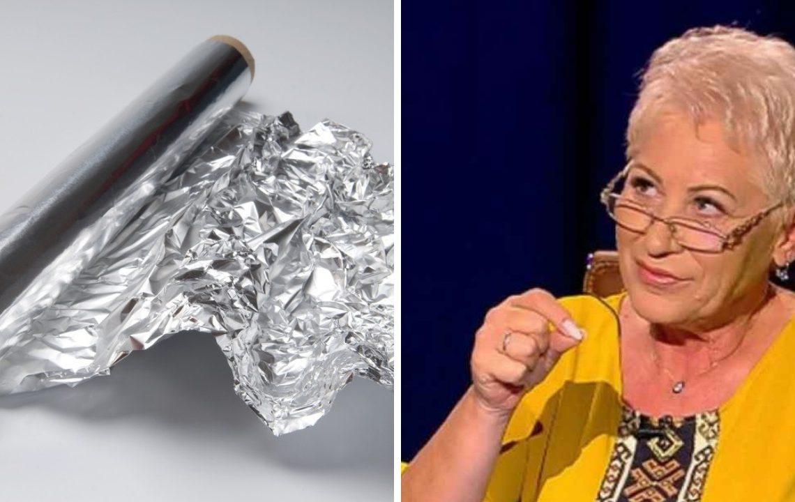 Ce se întâmplă dacă pui folie de aluminiu pe piele, potrivit Lidiei Fecioru. O să vrei să încerci și tu, chiar de azi!
