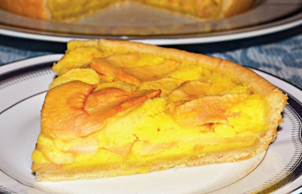 Tarta cu mere si crema de smantana