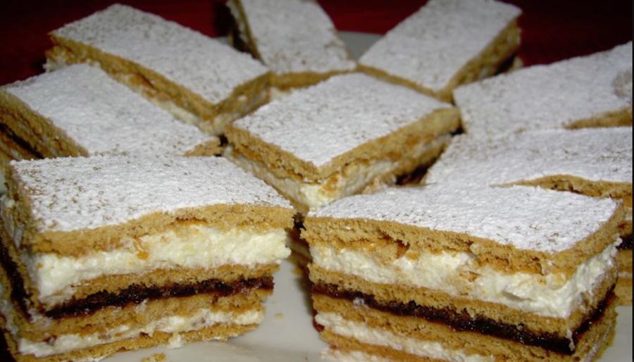 Cea mai fragedă și bună prăjitură cu foi pe care o cunosc. Prăjitura Albinuta